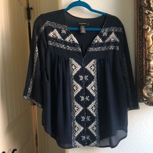 MM Couture by Miss Me beaded top